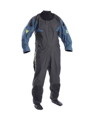 Typhoon Hypercurve Drysuit - Grey / Indian-Teal